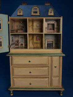1/48th scale dolls house keepsake chest of by GaleElenaBantock  ♡ ♡