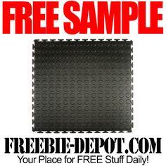 ►► FREE SAMPLE - Flexi-Tile Flexible Interlocking PVC Tiles - FREE Flooring Sample ►► #Free, #FREESample, #FREEStuff, #Freebie ►► Freebie-Depot