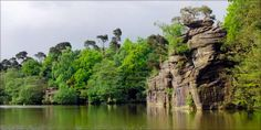 Plumpton Rocks - 30 acre parkland with lakeside walks, dramatic Millstone Grit rock formations