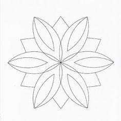 Mandala to zentangle