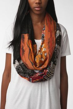 Gifts for me-Urban Renewal Remnant Circle Scarf  #UrbanOutfitters  http://www.urbanoutfitters.com/urban/catalog/productdetail.jsp?id=22948483=001=W_ACC_SCARVES  #17holiday