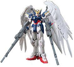 Figure Model Kits - Bandai Hobby 17 RG Wing Gundam Zero EW Model Kit 1144 Scale >>> Click on the image for additional details.
