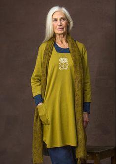 """#Farbbberatung #Stilberatung #Farbenreich mit www.farben-reich.com Autumn 2016 Kleid """"Apple"""" aus Öko-Baumwolle 65701-80.jpg"""