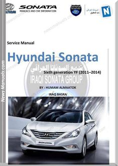 download hyundai sonata models 2011-2014 year service manual online pdf and  how to repair