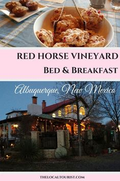 Located on the Atrisco Land Grant in Albuquerque, New Mexico, in the southwest USA, is a charming bed and breakfast with its own vineyard