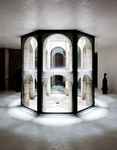 Artist and sculptor Xavier Corbero's labyrinth home in Barcelona, Spain via 📿 . Gothic Architecture, Architecture Details, Interior Architecture, Interior Design, Architecture Life, Conception Scénique, Scenic Design, Stage Design, Pics Art