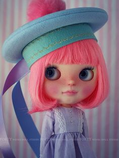 A Doll A Day. Mar 26. Cherry on Top. | Flickr - Photo Sharing!