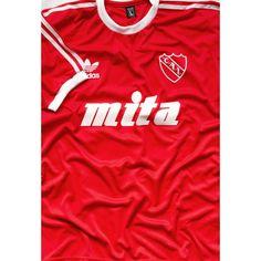 69e610a70 Italy World Cup 1990 Argentina goalkeeper Sergio Goycochea. Argentina  Soccer Shop · Retro Soccer Jersey · 1988 C. A. Independiente home jersey  retro replica ...