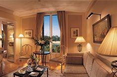 ..colours to make art deco interior a bit warmer.. Hotel Cipriani.