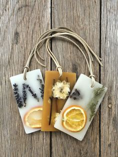 New shipment of botanical wax sachets - 2 in a box for only $20!   Lavender Tangerine  Honey Tobacco  Clementine Clove