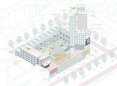 Gautier Rey architecture portfolio