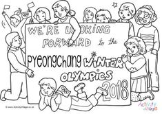 We're looking forward to the Pyeongchange Winter Olympics in 2018
