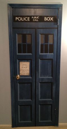 Dr. Who Door