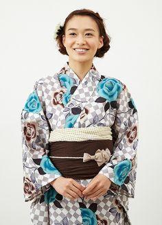 Yukata 浴衣 ダイヤバラ