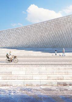 Museu de Arte, Arquitetura e Tecnologia de Lisboa tem inauguração prevista para este ano,via Amanda Levete Architects