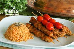 Şinitzel Lezzetinde Lokum Tavuk Şiş Tarifi (videolu) Iftar, Fajitas, Waffles, Sausage, Chicken, Meat, Breakfast, Food, Morning Coffee