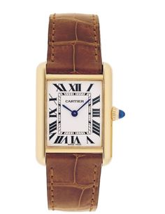 Cartier watch. Old Money Jewelry - 20 Jewels That Scream Old Money - Town & Country