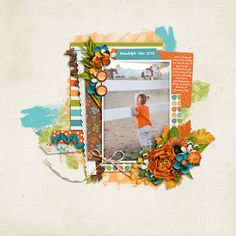 End of Summer :: Digital Layout from the SSD Gallery