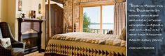 Visit this Door County Bed and Breakfast and Stay at the Blacksmith Inn on The Shore in Baileys Harbor Wisconsin - On Lake Michigan, this Romantic Inn is a Wisconsin B Gem