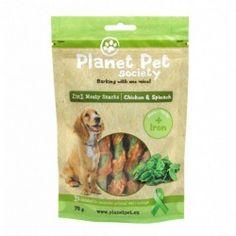 Planet Pet Snack Frutas Pollo y Espinacas 70gr