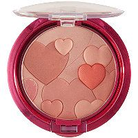 Physicians Formula  Happy Booster Glow & Mood Boosting Blush in Warm (basically peach), so cute with those hearts. The blush looks natural and not powdery.