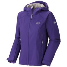 Mountain Hardwear Principia Softshell Jacket  Womens Night Purple Medium >>> Check this awesome product by going to the link at the image.