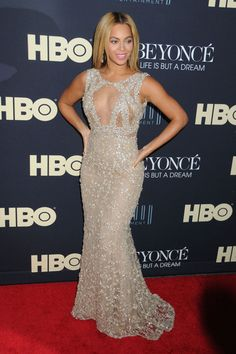 Beyonce Knowles - Beyonce at the Premiere of Her Movie