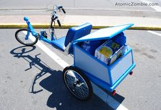 An affordable human powered alternative to gas vehicles.