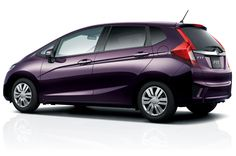 Honda Fit 2015 with a CVT Passion Berry Pearl 33/41/36 mpg This color is amazing. Living in Texas it is not a good idea to have a dark colored car but this color might make me change my mind.