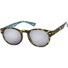 The St. Paul Sun Reader +3.00 Green Tortoise/Blue Reading Glasses