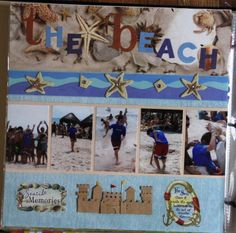The beach - Scrapbook.com