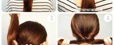 Barrette pour chignon mode demploi Bobby Pins, Hair Accessories, Beauty, User Guide, Shirt Hair, Beleza, Hair Pins, Hair Accessory, Hairpin