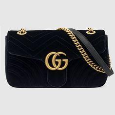 GG Marmont velvet shoulder bag - 1790