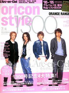 2005 L'Arc~en~Ciel Oricon Style July 2005