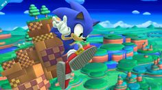 Sonic the Hedgehog - Super Smash Bros., Wii U he finnally joined?!?!?
