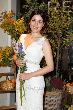 Adriana Ugarte se viste de novia