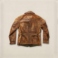 Barrigner Cowhide Coat