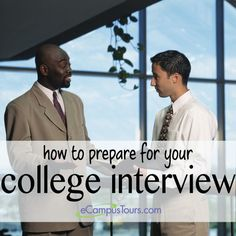 How to prepare for your college interview. Since I would like to teach high school, college will be a huge topic for these older students. This site will help them prepare.