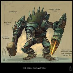 Warforged Titan, by Sean Andrew Murray | Artwork by Sean And… | Flickr