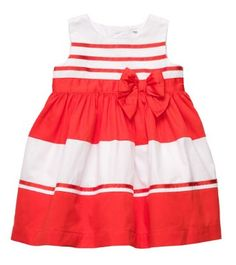 Carters 2−pc. Stripe Bow Dress Set $34.  Get it now at http://ilovebabyclothes.com/?product=carters-2%E2%88%92pc-stripe-bow-dress-set
