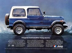 Jeep CJ-7 All-Weather Advertisement