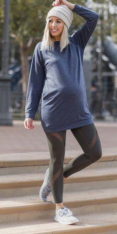 stylish maternity activewear