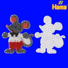 Hama bead mouse pegboard pattern