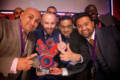 Appco Group UK Convention 2015: Business owners pose with their Powerhouse Location award at Indigo @ The O2 Arena.