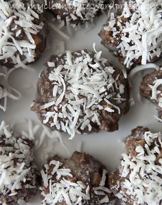 SUGAR FREE Choconut Balls (Clean Eating, Sugar Free, Low Fodmap, Gluten Free, Dairy Free, Vegan)