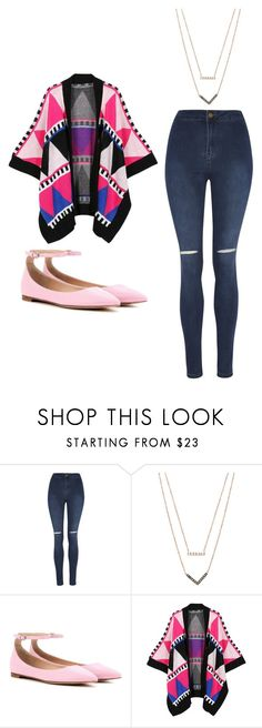 """Outfit Idea by Polyvore Remix"" by polyvore-remix ❤ liked on Polyvore featuring George, Michael Kors, Gianvito Rossi and WithChic"
