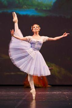 Evgenia Obraztsova and Joseph Michael Gatti in Giselle (Dance Open 2013)