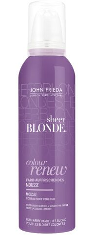 John Frieda® Sheer Blonde® Colour Renew Mousse