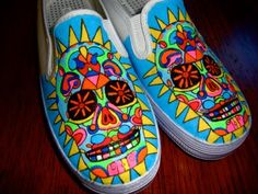 One of my students said she'd paint these for me if I got her a pair of white vans :)