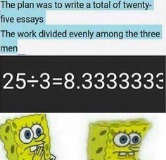 I always assumed Ham would write 9